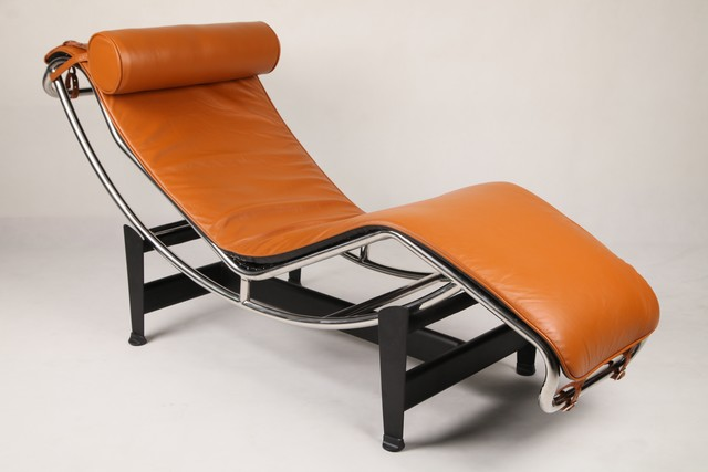 Le corbusier chaise lounge lc4 lounge chair modern for Bauhaus chaise lounge
