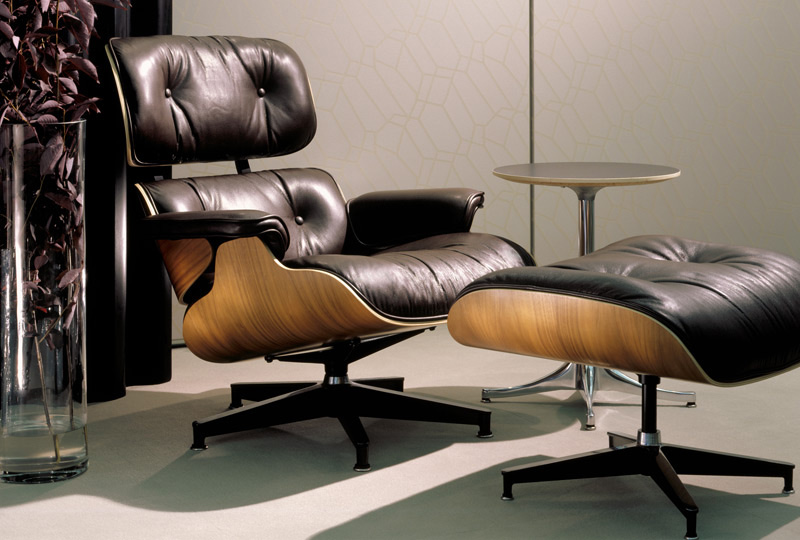 Charles Eames Lounge Chair And Ottoman Lounge Chair